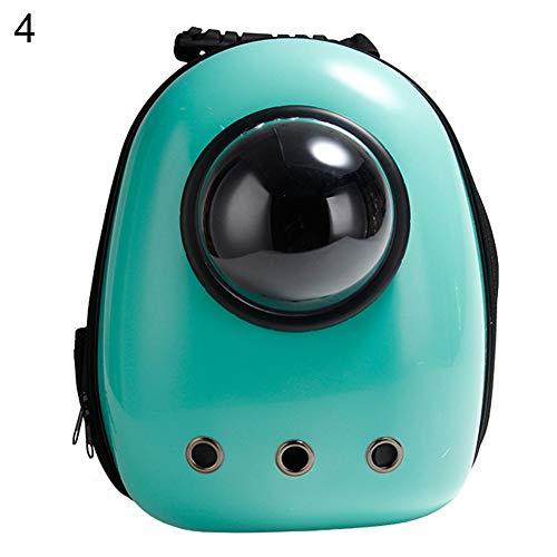 FeiyanfyQ Tragbarer Rucksack für Haustiere, Weltraumkapsel-Design, Wasserdichter Rucksack für Katzen und kleine Hunde, Auswahl, acryl, 4#