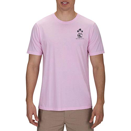 Hurley M Day Dream tee Camisetas, Hombre, Pink Gaze, M