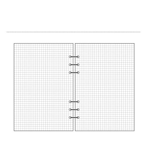 NC56 A5 A6 Spiraltransparentes PVC-Notebook-Cover Lose Tagebuchspule Ringbinder Füller Papier Separater Planer Empfangsbeutel Kartenspeicher