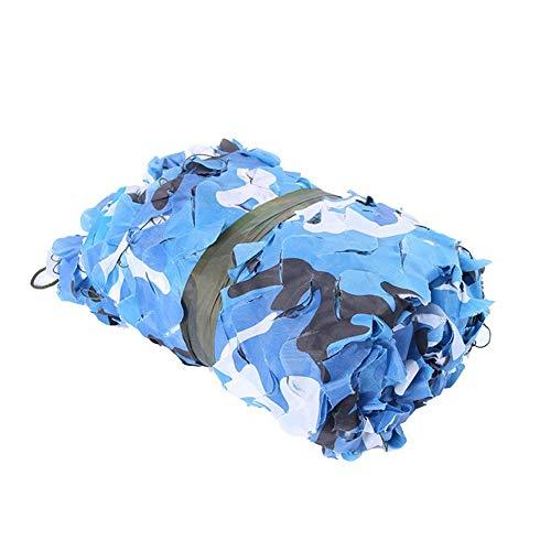 WZHCAMOUFLAGENET Marinemodus-Tarnnetz-Polyäthylen-tragbares Auto-Markisen-Markisen-Netz Geeignet Für Sonnenschirm-Garten-Dekoration Multi-Size Wahlweise Freigestellt (größe : 2 * 4m)