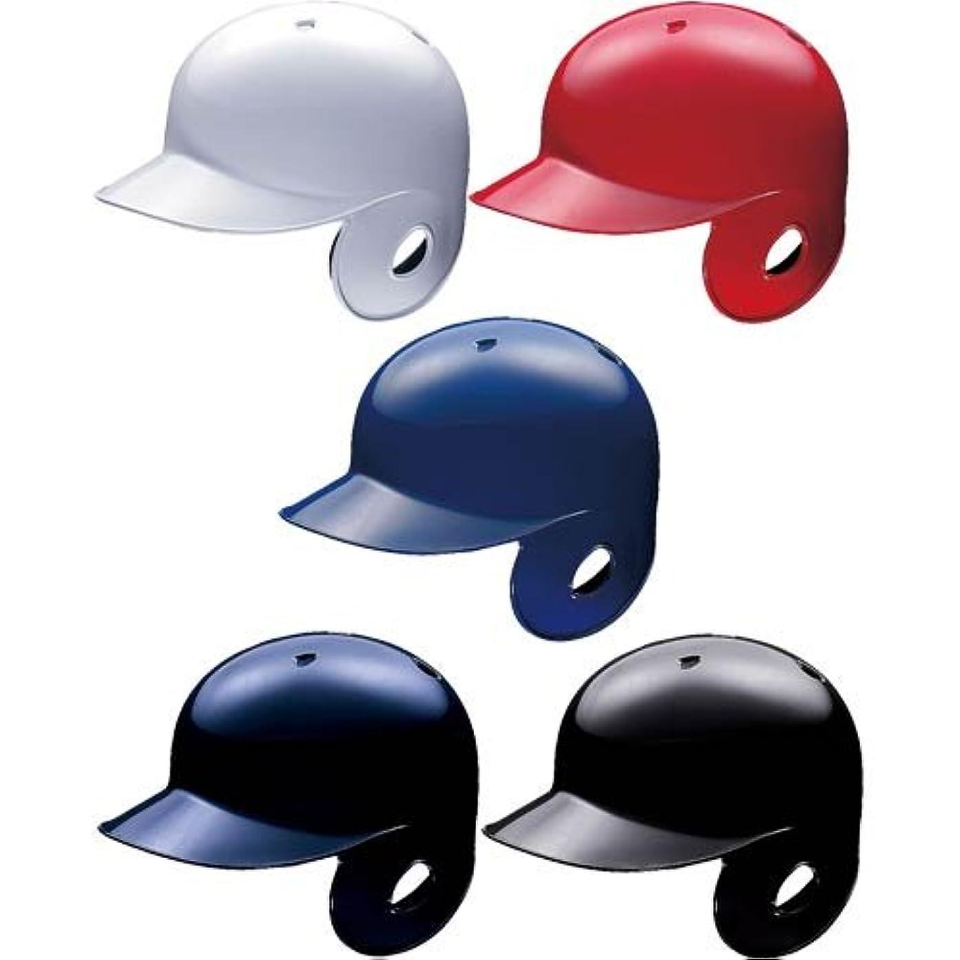 王位非武装化質量アシックス 軟式 野球用 打者用 片耳 ヘルメット (ロイヤル(43), 右打者用(BPB441)?L(58?59cm))