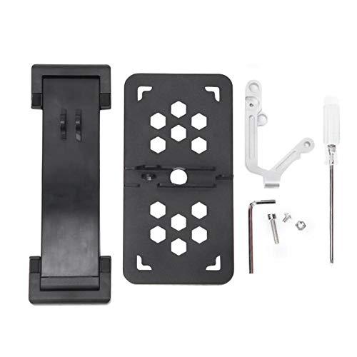 Supporto per staffa controller Supporto per telefono controller flessibile pieghevole per telecomando Mini Drone(black)