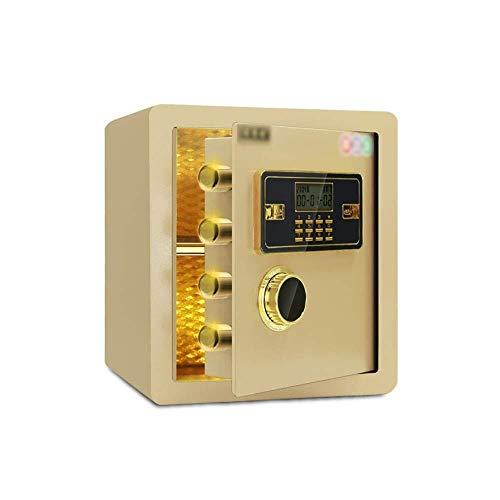 Mr.T/Office veilige kluizen, grote capaciteit elektronische wachtwoord veilige doos massief gelegeerd staal code Lock Box voor Home Office Hotel Business Sieraden Cash Medicatie Klein huis veilig