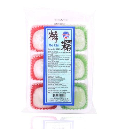 Japanischer Mix Mochi (Grüner Tee & Rote Bohnen Geschmack) / Reiskuchen 230g