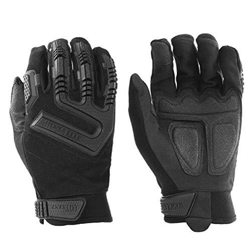 Copytec Tactical Einsatzhandschuhe Kommando schwarz Airsoft Outdoor Survival #16072, Größe:L, Farbe:Schwarz