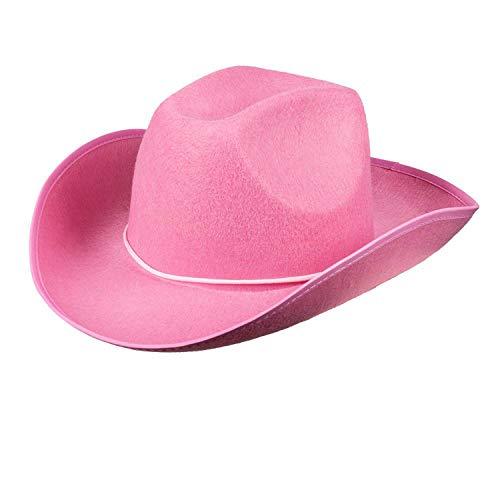 Boland 04074 - Erwachsenenhut Cowboy, Einheitsgröße, rosa