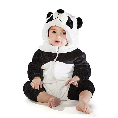 M&M SCRUBS Baby Panda Bear Costume (12-18 Medium)