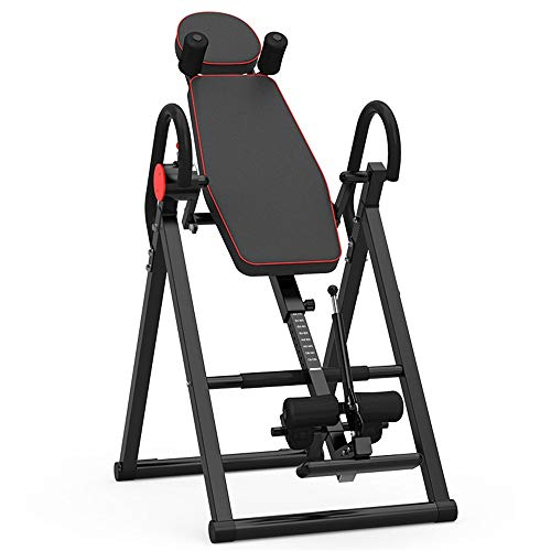 Read About Inversion Equipment Inverted Machine Folding Inverted Table for Home Office Gym Gravity T...