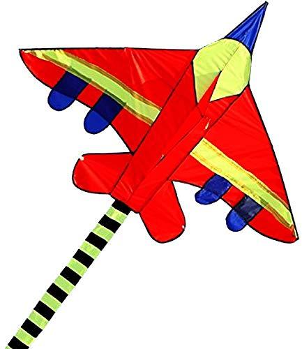 Hengda Kite Long Tail Cartoon Fighter Kites the Plane Kite for Children 1.5m with Flying Line by Hengda kite