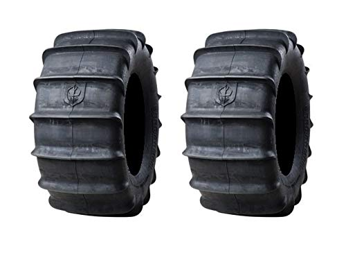 Pair of Pro Armor Sand Paddle Rear (4ply) ATV Tires [32x15-15] (2)