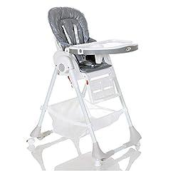 Kinderstoel tot 20 kg liggende positie hoogte verstelbaar Vouwen 5 punt riem; Grijs*