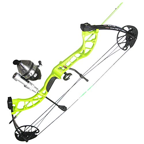 PSE ARCHERY D3 Bowfishing Compound Bow-Kit-Set-Arrow - Right Hand - Green - 30-40