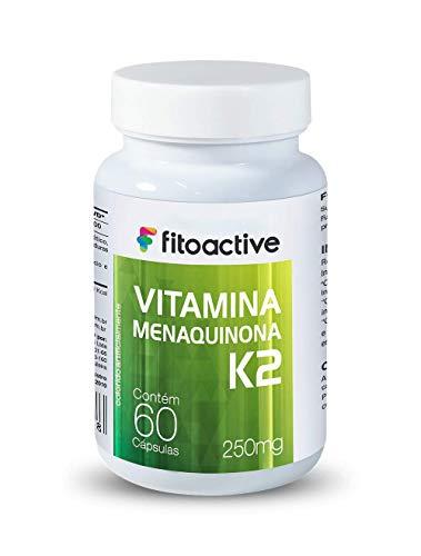 Vitamina K2 MK7 65 MCG 60 Cápsulas Fitoactive