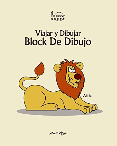 Block De Dibujo: Viajar y Dibujar: Africa: Volume 6 (8x10 pulgada / 170 paginas)