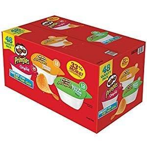 Pringles Original Flavor Snack Stacks, 48 ct.