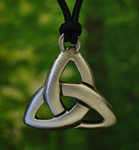 Celtic Triquetra/Trinity Knot Necklace Pendant | Celtic Jewelry in Fine Pewter