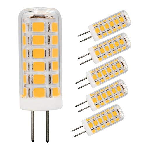 Bombillas LED G4 regulables, G4 de base bimpin, AC120 V, 2,5 W (equivalente a 25 W), 260 lúmenes, blanco cálido 3000 K, para...