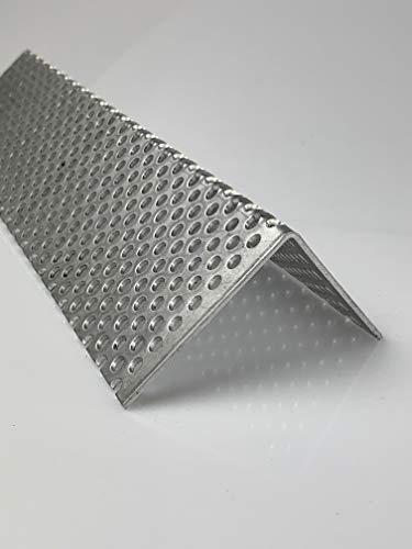 Lochblech Alu Winkel RV 5-8 Winkelprofil 1,5mm Länge 1000mm, Individuell nach Maß (Schenkel: 90mm x 90mm)