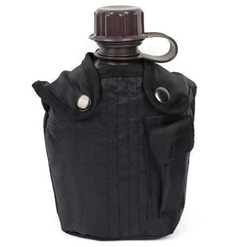 Mil-tec Botella de agua con la cubierta