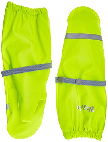 Playshoes Matschhandschuhe Neon Guantes de barro con forro polar, amarillo neón, 1 Unisex niños