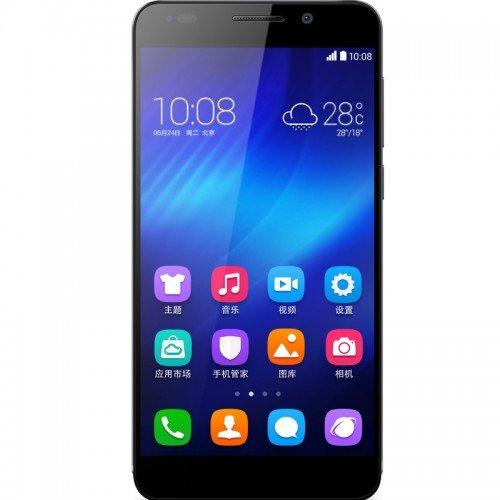 Honor 6 5Zoll Single SIM 4G 3GB 16GB 3000mAh Schwarz - Smartphones (12,7 cm (5 Zoll), 3 GB, 16 GB, 13 MP, Android 4.4, Schwarz)