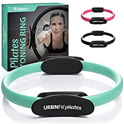in budget affordable URBN Fit Pilates Ring Fitness Circle – Weight Loss Body Tone Magic Circle and Resistance…