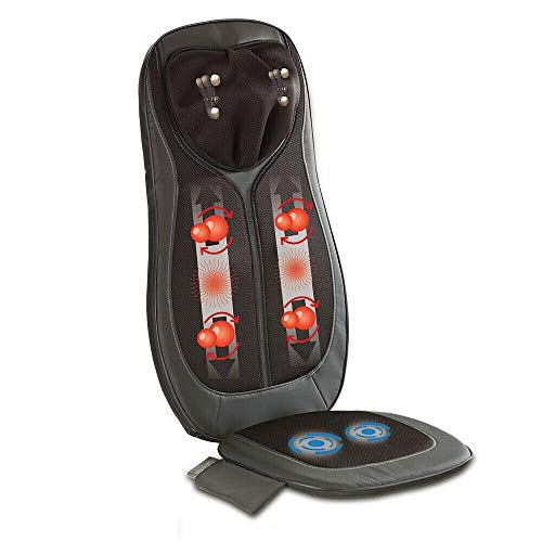 KLASVSA Elektrische Vibrierende Massager Stuhl In Kissen für Home Office Für das Auto für die Lenden Für denn nacken Für das Bett und für denn Stuhl oder denn Sessel oder der Chouch