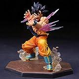 Dragon Ball Super Saiyan Son Goku Kaioken Battle Edition Regalo De Moda Figura De Adorno De Escritor...