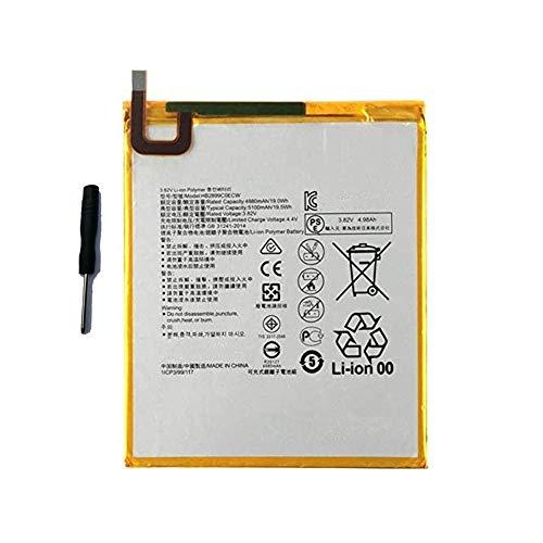 WXKJSHOP HB2899C0ECW Batteria di ricambio compatibile con Huawei MEDIAPAD M3 8.4  BTV-W09 M3-BTV-DL09 3.82V 5100mAh
