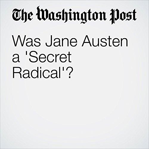 Was Jane Austen a 'Secret Radical'? copertina