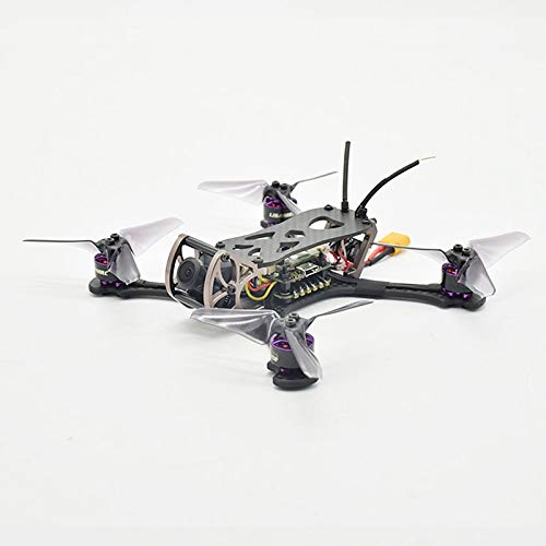 Vehicles-OCS Lisamrc LS-X140 140mm Wheelbase Frame Carbon Fiber 1206 4500kv Brushless Motor 28A ESC 700tvl Camera for RC DIY FPV Racing Drone
