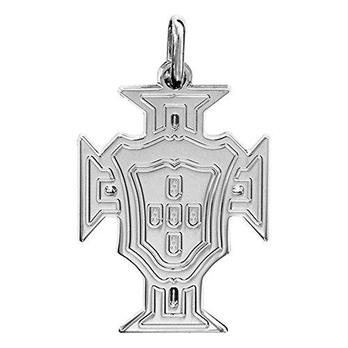 Helios Bijoux - Pendentif Croix Portugal - Argent Massif 2,60gr - Neuf
