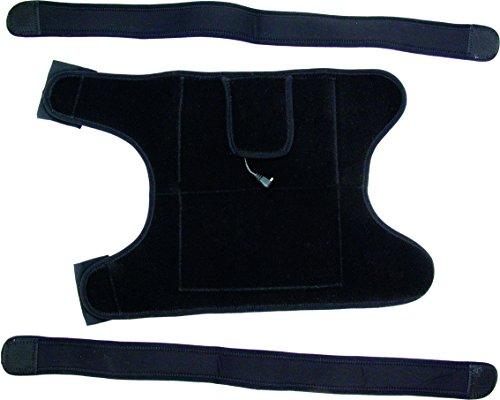 Alpenheat Fire10in1Wrap Beheizte Bandage, schwarz, One Size