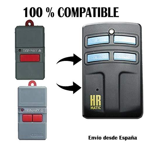 Mando de Garage Universal Compatible con ClemsaMT Codigo Fijo y Rolling Code