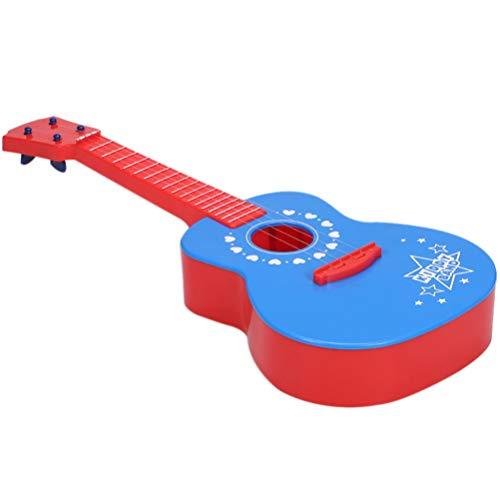 non-branded Ukelele para Niños Juguete de Guitarra 4 Cuerdas Mini Guitarra Instrumentos Musicales para Niños Juguetes de Aprendizaje Educativo para Niños Pequeños Niños Niñas Principiante