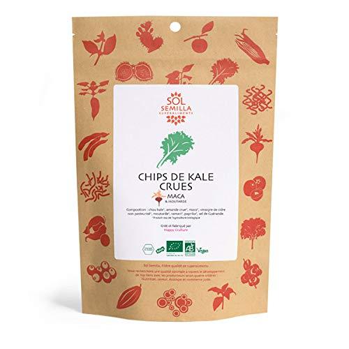 Sol Semilla - Chips De Kale Crues Maca Moutarde 35G* - Lot De 3 - Vendu Par Lot - Livraison Gratuite En France