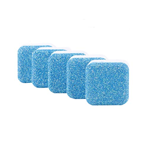 YUYOU Solid Washing Machine Cleaner, Washer Decontamination Cleaning Detergent Effervescent Tablet