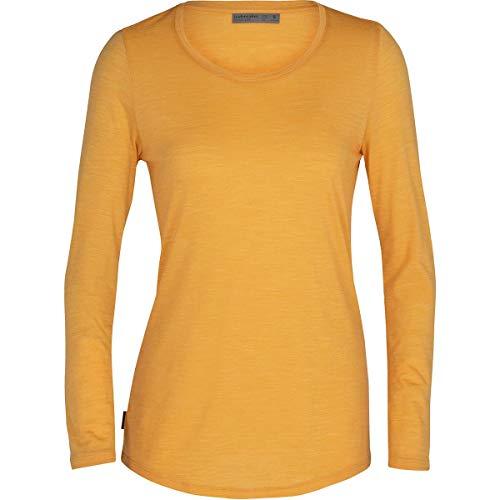 Icebreaker Sphere Long Sleeve Low Crewe - Camiseta para mujer
