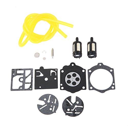 Kit de réparation de diaphragme pour carburateur Homelite XL 2 et Super 2 Fit Walbro HDC