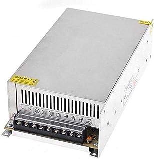 محول طاقة QPower 110/220 فولت إلى تيار مستمر 12 فولت 50 أمبير 600 وات، محول طاقة لكاميرا CCTV/نظام الأمان/إضاءة شريط LED (...