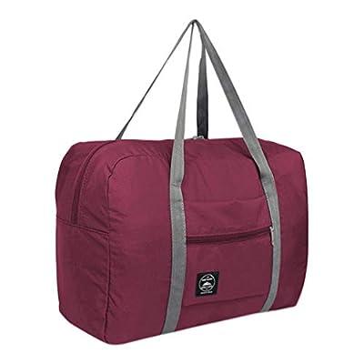 Amazon - Save 80%: Large Nylon Duffel Bag Foldable Duffel Bag Carry On Luggage Bag Lightwei…