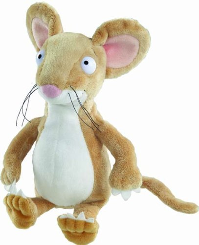Gruffalo Mouse 7 inch, White/Brown