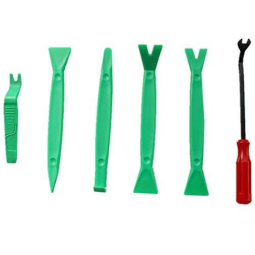 WPCASE Desmontadores De Plastico para Coches Kit Herramientas Herramientas Coche Kit De...