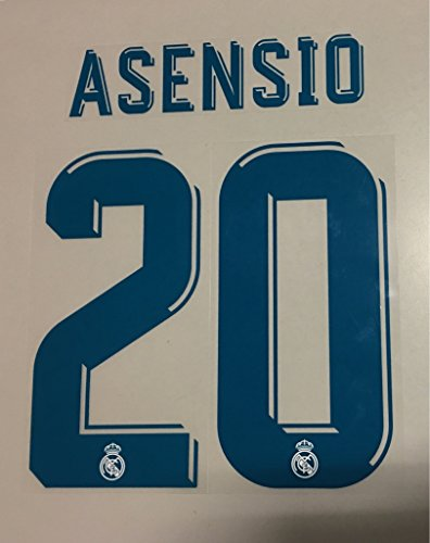 Flock Original Real Madrid Trikot 17cm - ASENSIO 20