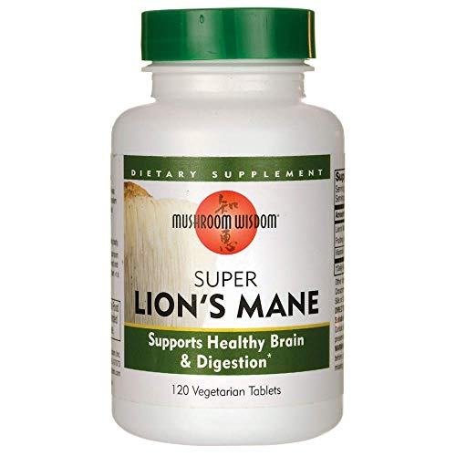 Super Lions Mane 120 Tablets