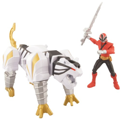 Power Ranger Samurai TigerZord And Mega Ranger Fire