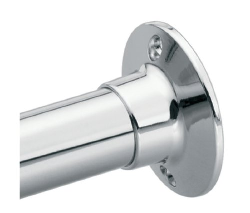 Moen 63-F Commercial Donner Shower Rod Flange Set, Small, Chrome