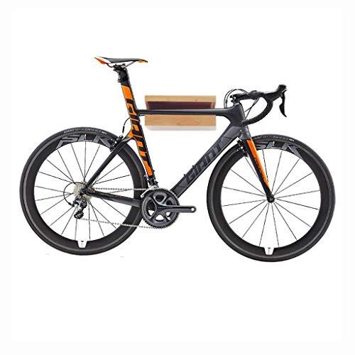 Fahrradständer Parkhaus-Fahrradständer aus Holz - Wandregal für Rennräder für Garage oder Zuhause - Fahrradständer, 33 * 30 * 14,5cm