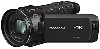 "Panasonic HC-WXF1 4K Cinema-like Camcorder, 24x Leica Dicomar Lens, 1/2.5"" Bsi Sensor, Three O.I.S. Stabilizer Systems (B078J1BJXV) | Amazon price tracker / tracking, Amazon price history charts, Amazon price watches, Amazon price drop alerts"