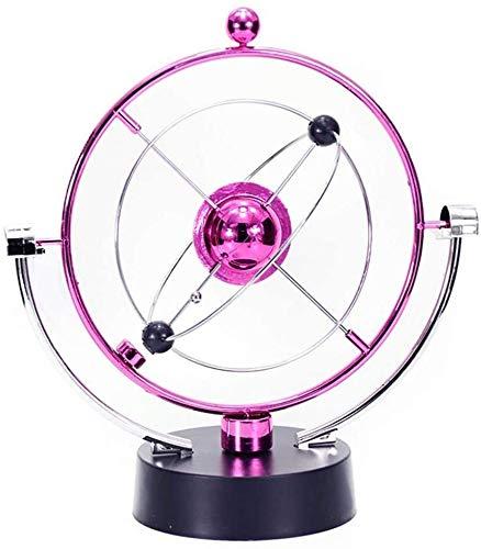Aoyo Coloré Bureau Globe Ornement pivotant Globe Art Cinétique Asteroid Bureau Jouet Décoration Bureau Bureau Home Décor